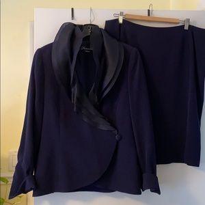 Frascara two piece suit.